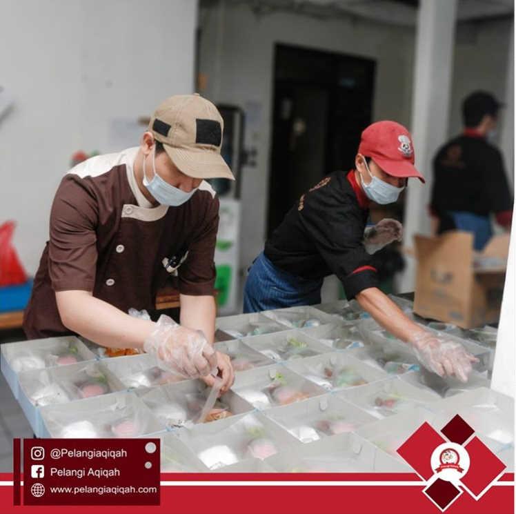 Nasi box catering aqiqah