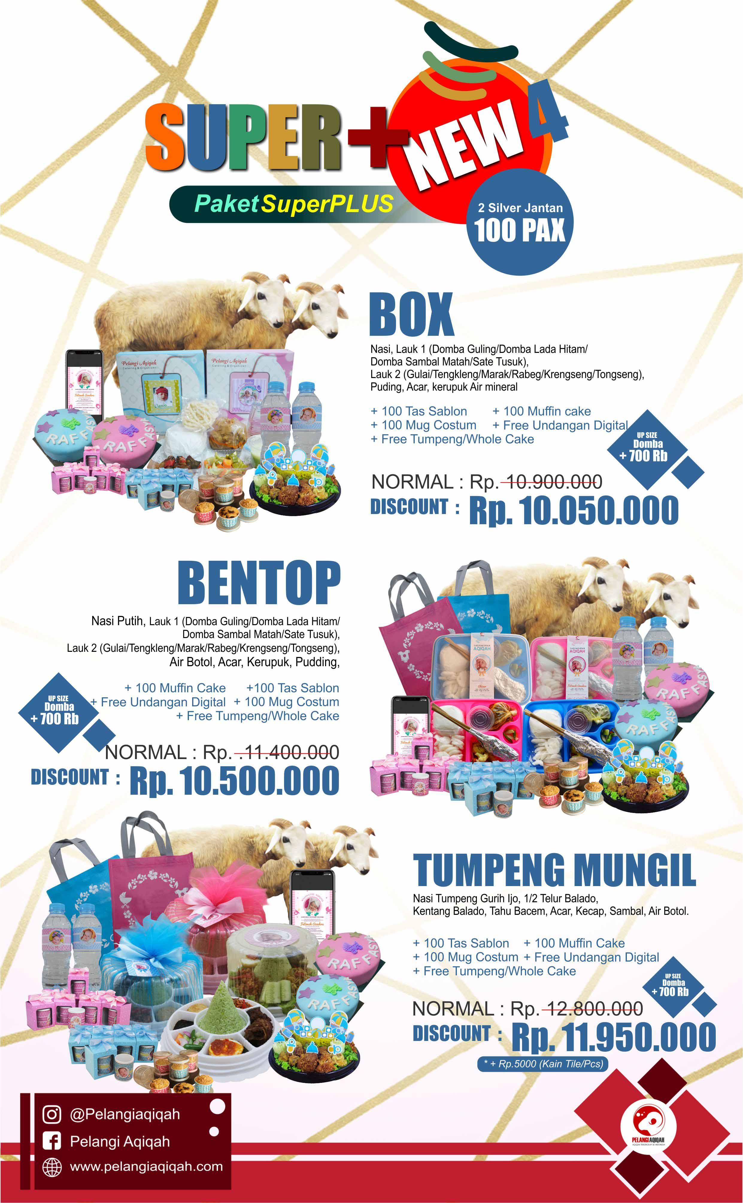 Paket Aqiqah Jantan Super Plus 4 New