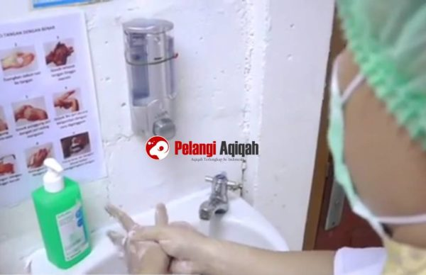 budaya cuci tangan